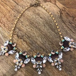 J. Crew Multicolored Bauble Necklace
